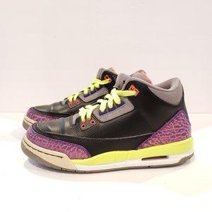 Nike Air Jordan 3 Retro 6 y girls